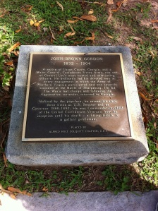 General John B. Gordon Confederate Section Block K-3