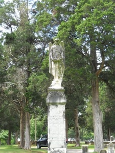 The Lady in Black monument.