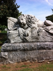 The Lion of Atlanta Confederate Section