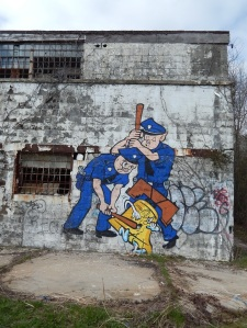 Atlanta Prison Farm Graffiti