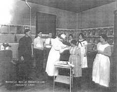 Staff at Waverly Hills Sanatorium