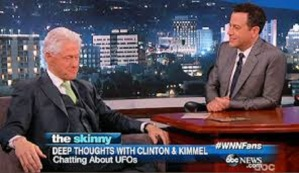 Bill Clinton Discusses UFOs