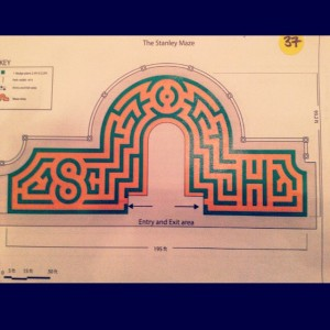 Stanley Hotel Hedge Maze Winning Design