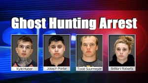Ghost Hunting Arrest