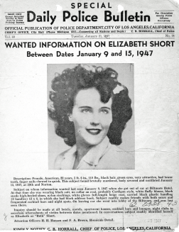 Wanted Information poster